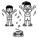 学芸大学駅近辺のラジオ体操情報まとめ(碑文谷公園、鷹番小学校など)